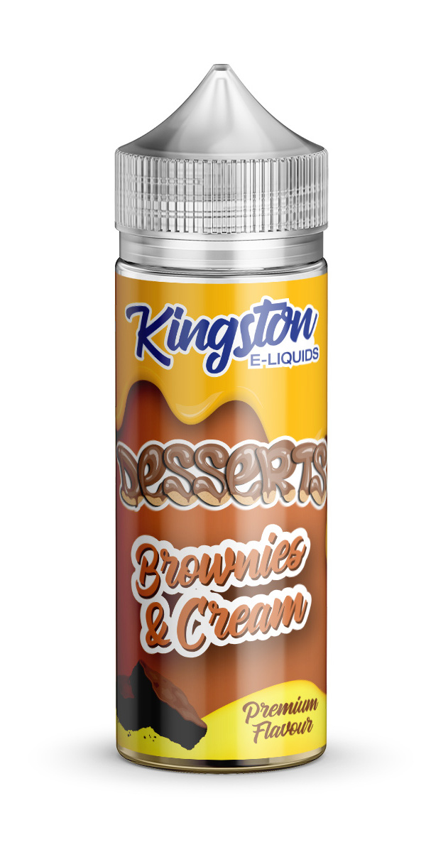 Kingston Desserts - Brownies & Cream - 120ml