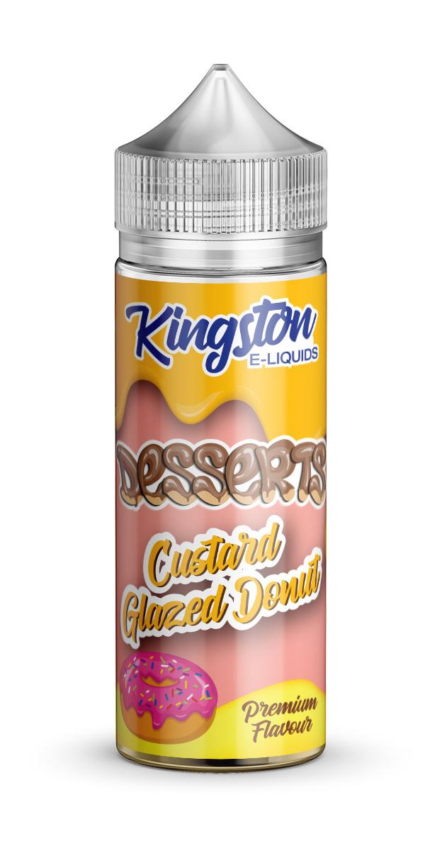 Kingston Desserts - Custard Glazed Donut - 120ml