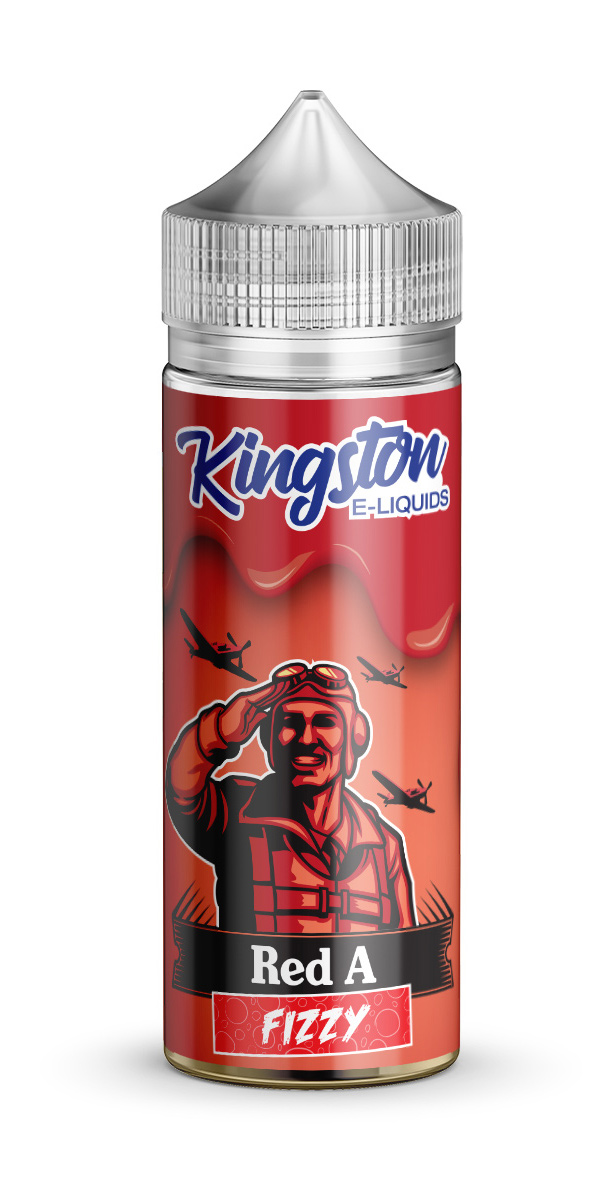 Kingston Red A Fizzy 120ml