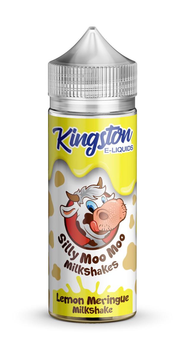 Kingston Silly Moo Moo - Lemon Meringue - 120ml