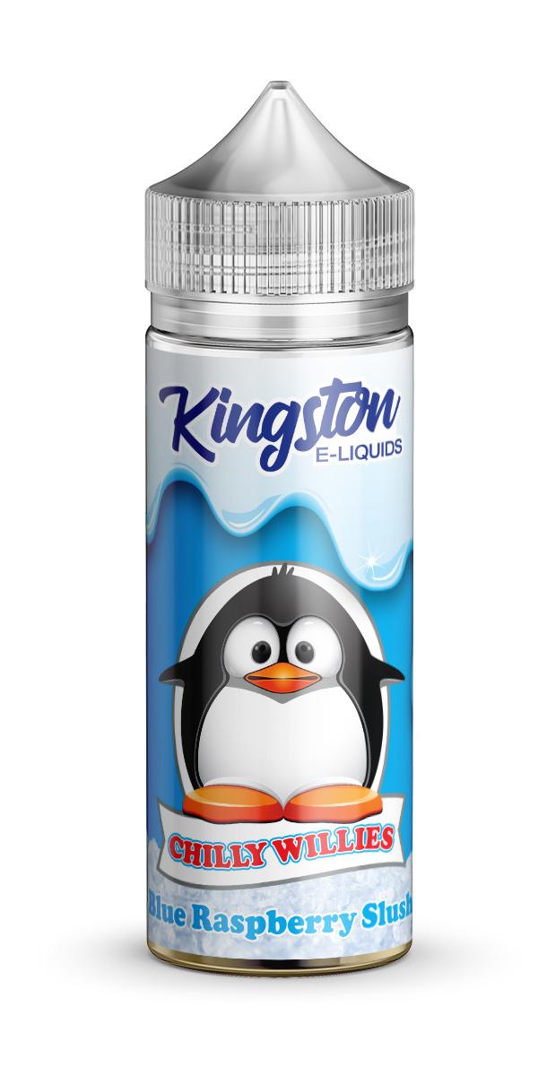 Kingston Chilly Willies - Blue Raspberry Slush - 120ml