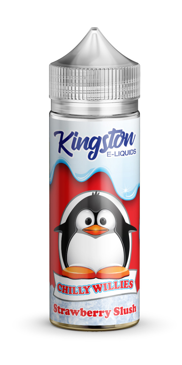Kingston Chilly Willies - Strawberry Slush - 120ml