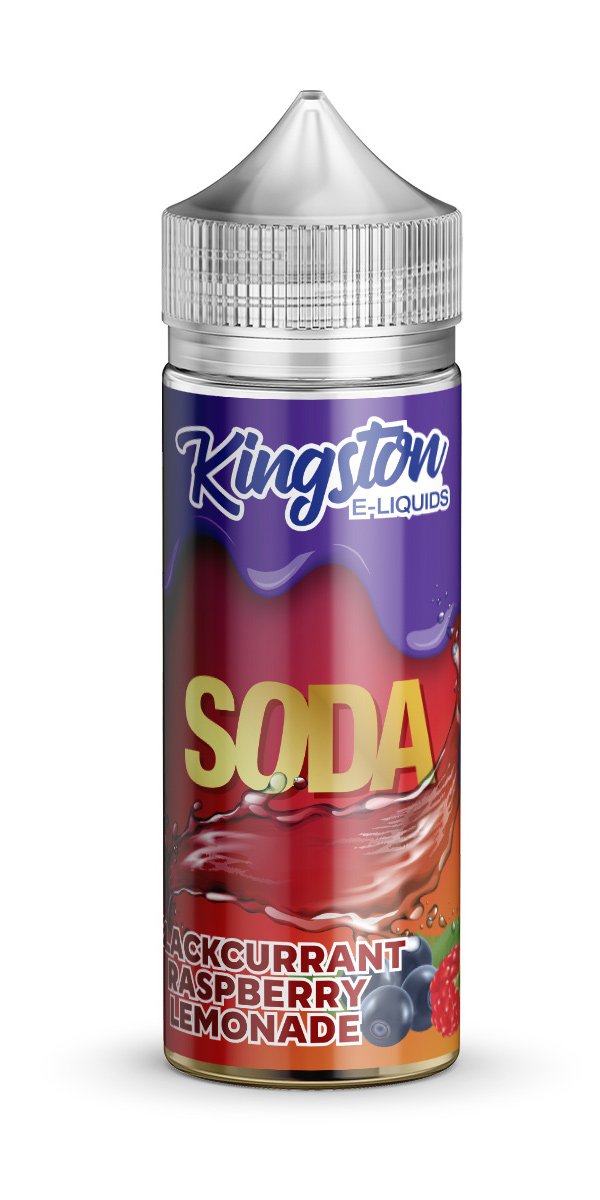 Kingston Soda - Blackcurrant Raspberry Lemonade - 120ml