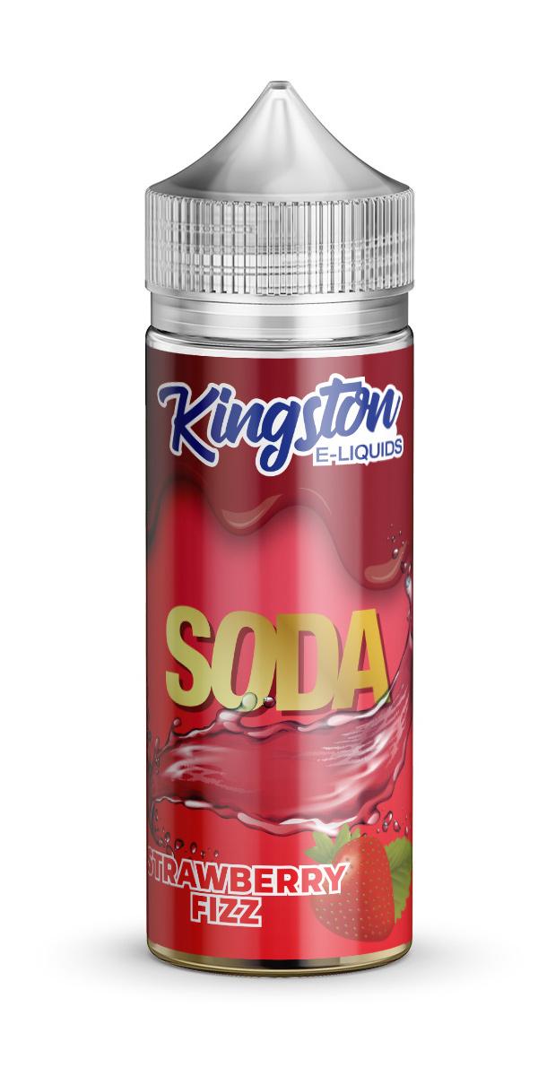 Kingston Soda - Strawberry Fizz - 120ml