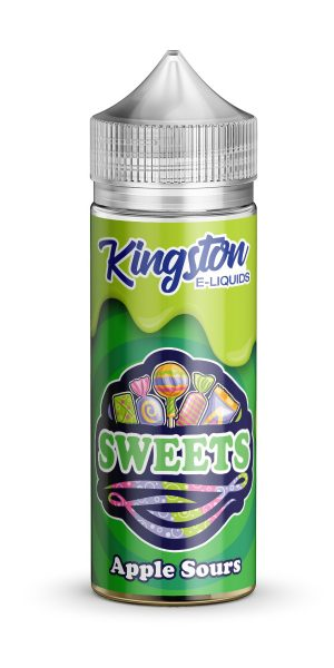 Kingston Sweets - Apple Sours - 120ml