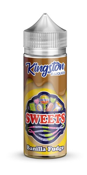 Kingston Sweets - Banilla Fudge - 120ml