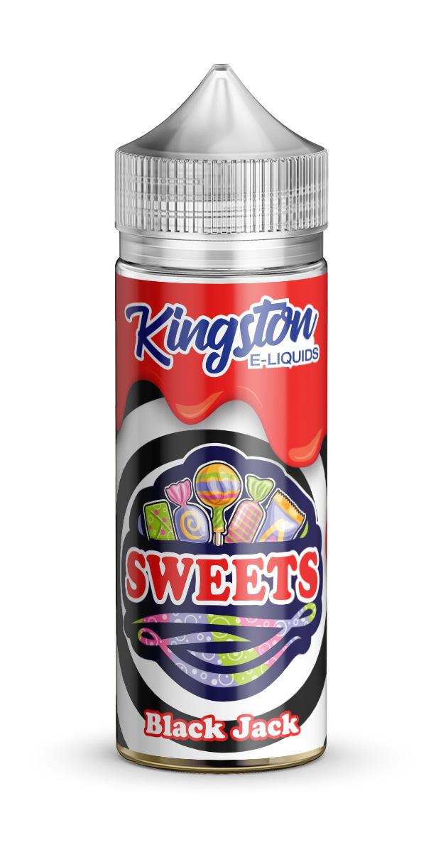 Kingston Sweets - Black Jack - 120ml