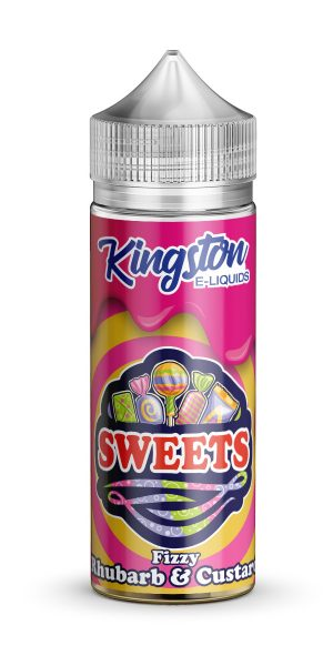 Kingston Sweets - Fizzy Rhubarb & Custard - 120ml