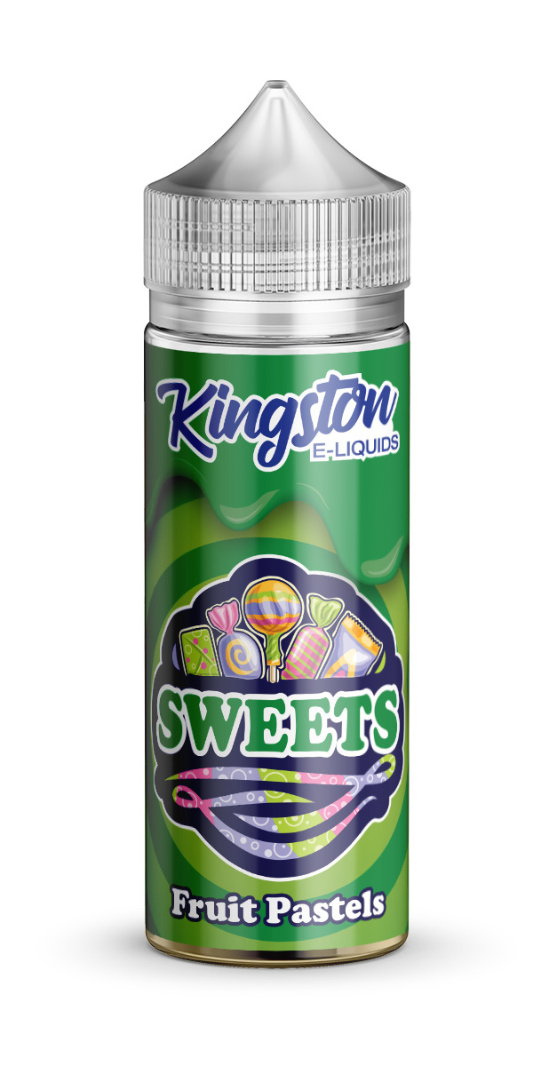 Kingston Sweets - Fruit Pastels - 120ml