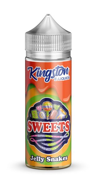 Kingston Sweets - Jelly Snakes - 120ml