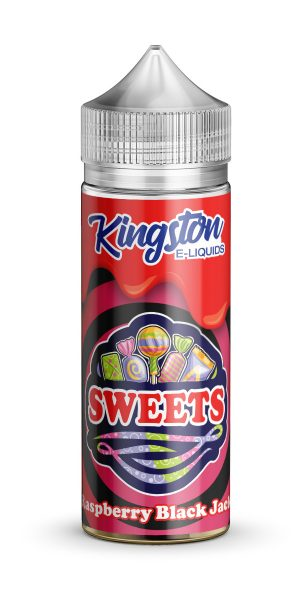 Kingston Sweets - Raspberry Black Jack - 120ml