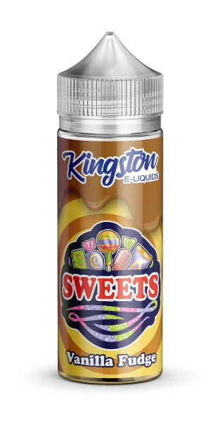 Kingston Sweets - Vanilla Fudge - 120ml