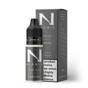 Nic Shots - 15mg - 100% VG
