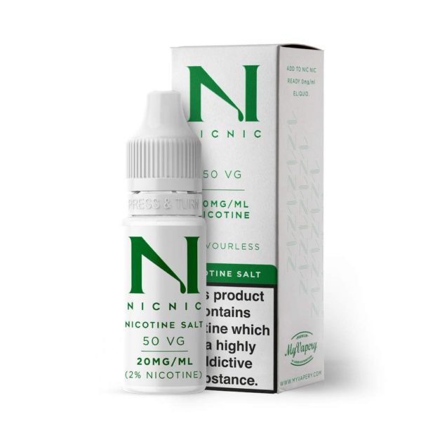 Nic Nic Salt Shot - 20mg - 50% VG